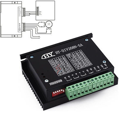TB6600 0.2-5A Single Axis CNC Engraving Machine Stepper Motor Driver Controller