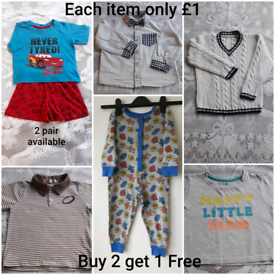 BOYS CLOTHES BUY 2 GET 1 FREE