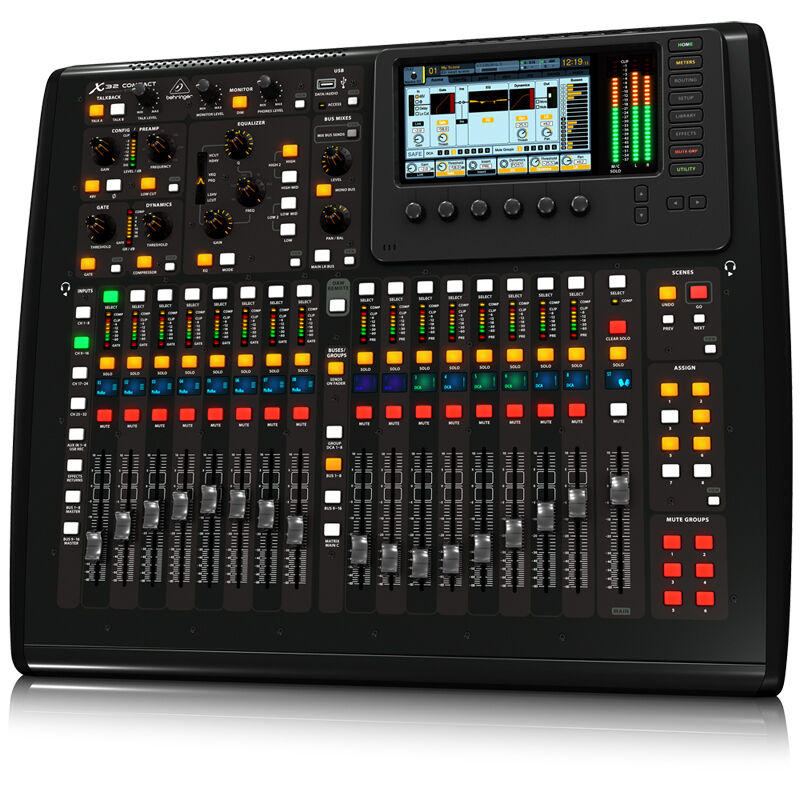Behringer X32 COMPACT Mixer Studio Digital Board Console Live Sound + Warranty. Buy it now for 1400.00