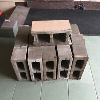 16 Cinder Blocks for FREE - Just come pick them up