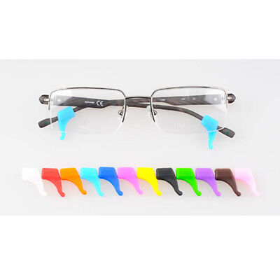 2 Pairs Comfort Soft Silicone Anti Slip Ear Hooks Of Glasses Eyeglass (Sunglasses Ear Grips)