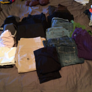 Mostly med maternity clothes