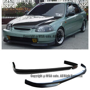96-98 Civic Type R Front Lip & Type-R Rear Lip Kits JDM Honda Coupe 2Drs EJ PU