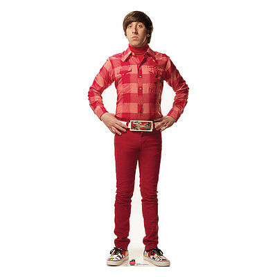 Howard Big Bang Theory Simon Helberg Lifesize Cardboard Cutout Standup Standee