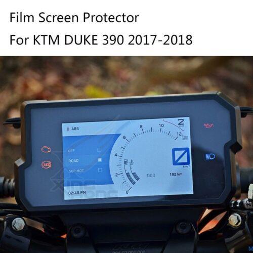 Dashboard Film Screen Protector Sticker For KTM Duke390 2017-2018 Motorcycle