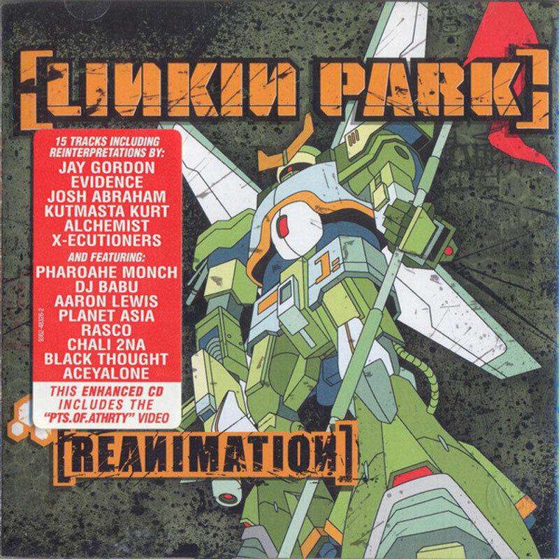 LINKIN PARK - Reanimation US CROSSOVER / NU METAL