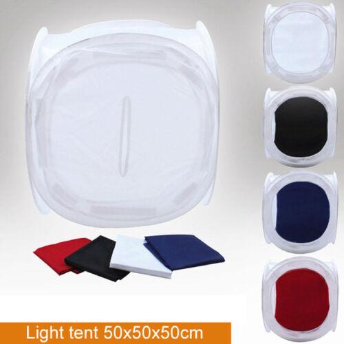 "M01138 MOREZMORE 50 cm 20"" Soft Light Box Photo Cube Tent Box 4 Backdrops"
