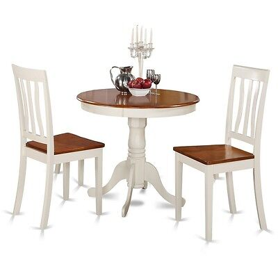 3 Piece Kitchen Nook Dining Set-Kitchen Table And 2 Chairs For Dining Room NEW