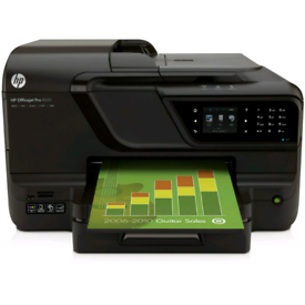 Printer HP Officejet 8600 A4 Wireless USB Network Colour Ink Printer