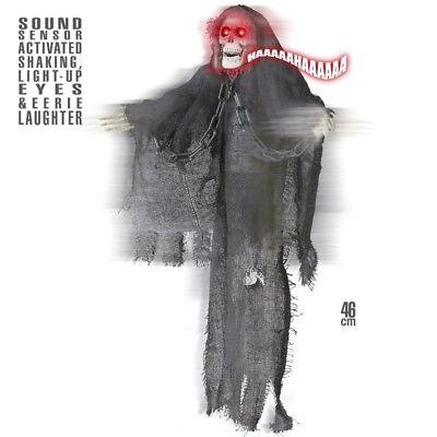 TOD SKELETT Grim Reaper animiert mit Bewegung Sound - Animierte Halloween Skelett