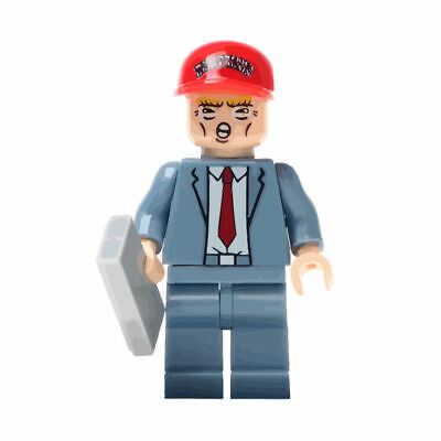 DONALD TRUMP PRESIDENT MINIFIGURE FIGURE USA SELLER NEW IN PACKAGE