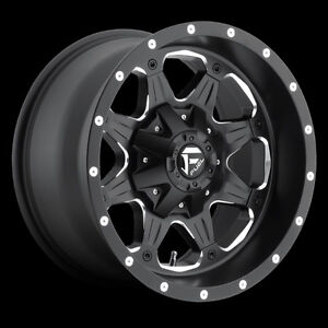 """Roues 17"""" Fuel Offroad Boost Jeep Wrangler JK TJ Roue Mag 17"""