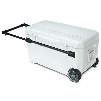 IGLOO GLIDE PRO 110 LARGE MOBILE COOLBOX ICE MARINE WHEELS COOL BOX