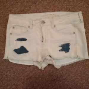 American Eagle Shortie Stretch Shorts