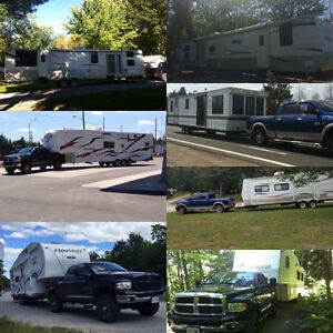 Travel Trailer/5Th Wheel Delivery & Enclosed/Flatbed Towing