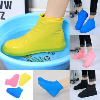Latex Boot Covers - Anti-slip Reusable Latex Shoe Covers Waterproof Rain Boot Overshoes-Shoes Unisex