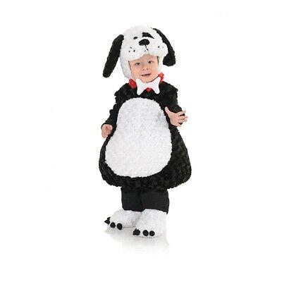 Underwraps Bauch Babys Schwarz Weiß Welpe Kleinkind Halloween Kostüm - Welpen Bauch Baby Kostüm