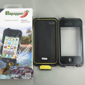Redpepper Case Waterproof Case for IPHONE 5/5S - Black
