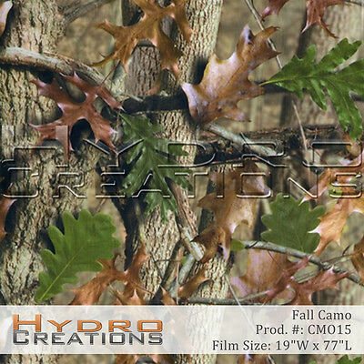 HYDROGRAPHIC FILM FOR HYDRO DIPPING WATER TRANSFER FILM FALL CAMO