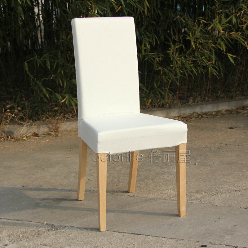 6 white IKEA chairs (Harry line)