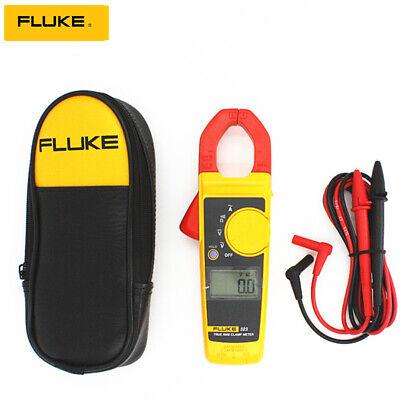 Fluke 323 True Rms Clamp Meter Ac Current Voltage Tester Resistance Multimeter