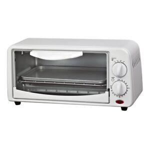 Courant Compact Toaster Oven - White, New