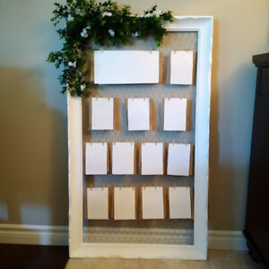 Seating Plan - Framed Display (wedding) Kitchener / Waterloo Kitchener Area image 1