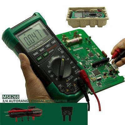 Ms8268 Digital Multimeter Auto Range 5-in-1 Multi-functional Dmm Meter Tester