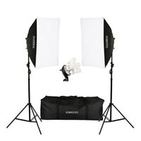 1800w Photo Video Continuous Softbox Lighting Kit