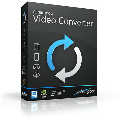 Ashampoo Video Converter dt. Vollver. lifetime Download 12,99 statt 39,99 ! Video Converter