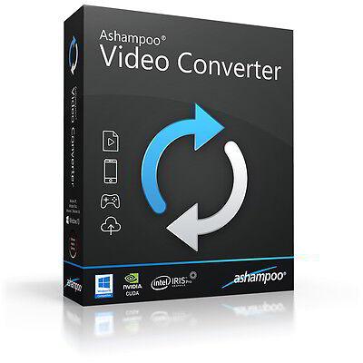 Ashampoo Video Converter dt. Vollver. lifetime Download 12,99 statt 39,99 !