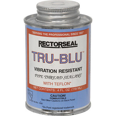 NEW Tru Blu Pipe Thread Sealant 118ml, water, gas, LPG, Oil, diesel, PTFE, Each - Pipe Thread Sealants