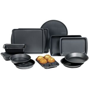 12-Pc. Nonstick Carbon Steel Bakeware Set, New