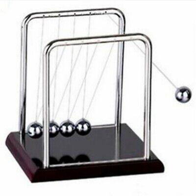 Newtons Cradle Pendulum Balance Balls Physics Science Office Desktop Decor Gift-