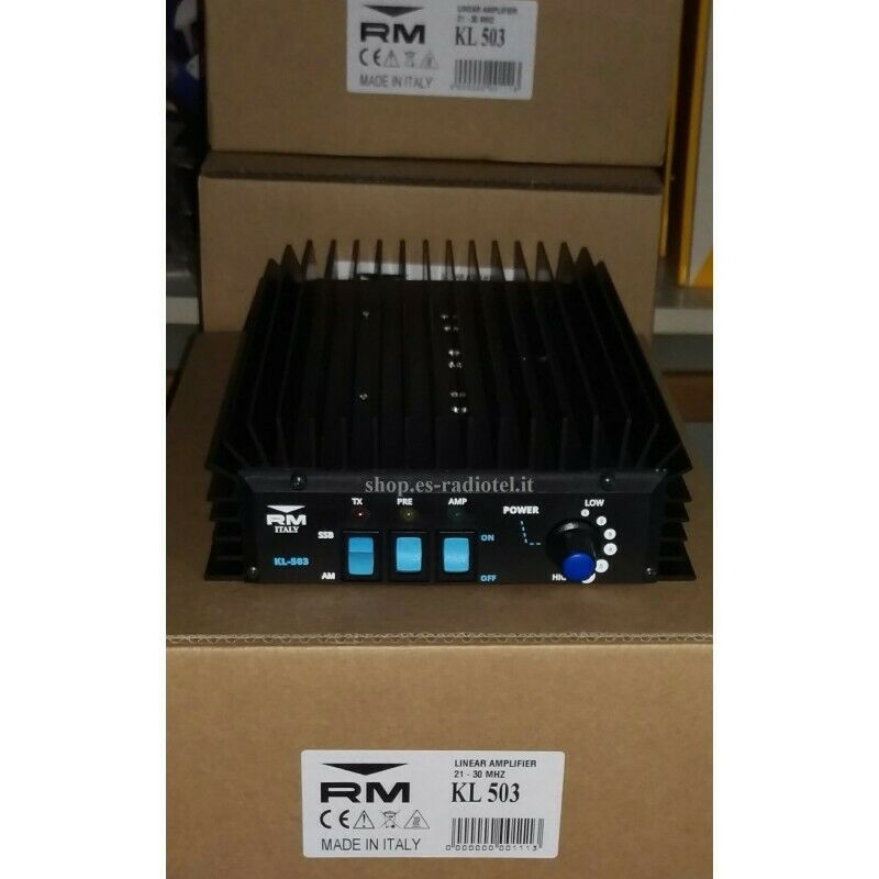 Linear Amplifier RM Italy KL503 New Version