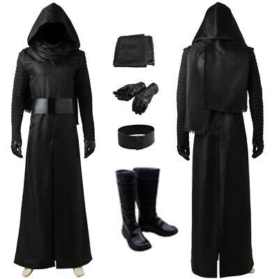 New Star Wars 7 The Force Awakens Kylo Ren Cosplay Costume Custom (Kylo Ren Cosplay Kostüm)