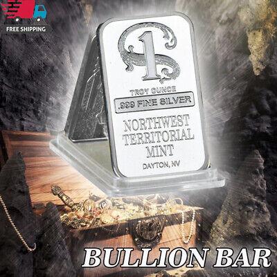 One Troy Ounce Fine Silver Northwest Territorial Mint Dayton Oz Bar American NEW