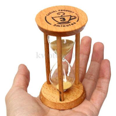 Frame Cute Sand Glass Sandglass-Hourglass Timer Clock Time Decor Gift 3 Minutes