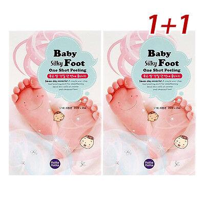 [HOLIKA HOLIKA] [1+1] Baby Silky Foot One Shot Peeling 20ml*4ea [two-time]