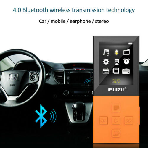 "RUIZU X18 1.8"" TFT Screen HIFI MP3/MP4 Music Player FM Radio"
