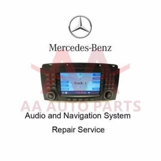 Car audio radio cd changer navigation repairs upgrades for Mercedes benz car radio repair