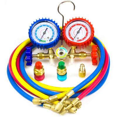 Ac Diagnostic Manifold Gauge Set Charging Refrigeration Hvac R12 R22 R134a R502