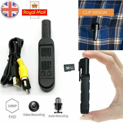 Covert Hidden Camera Pen Full HD 1080P Cam DVR Video Recording With 16GB SD Card