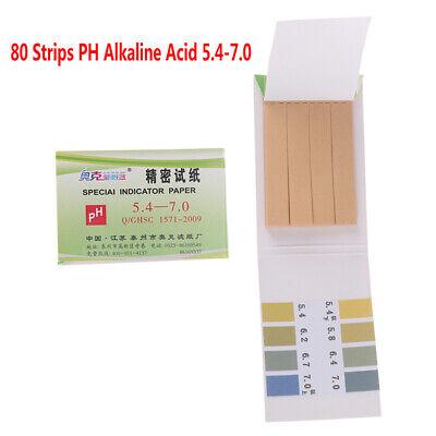 Ph Acid Range 5.4-7.0 Ph Paper Water Litmus Alkaline Paper Indicating Test Tf8