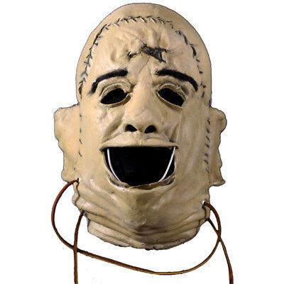 The Texas Chainsaw Massacre Mask (The Texas Chainsaw Massacre Leatherface Killer Adult Latex Halloween)