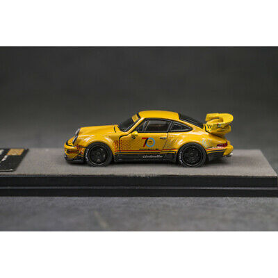 PGM 1:64 Scale Porsche 911 RWB 964 RAUH-Welt 70th Anniversary Die Cast Car Model