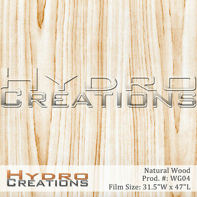 Hydrographic Film For Hydro Dipping Water Transfer Film Natural Wood Grain