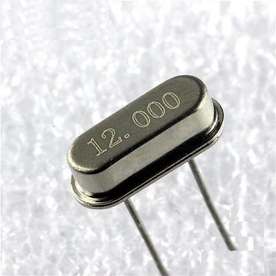 10pcs 12mhz 12.000 Mhz Crystal Oscillator Hc-49s New