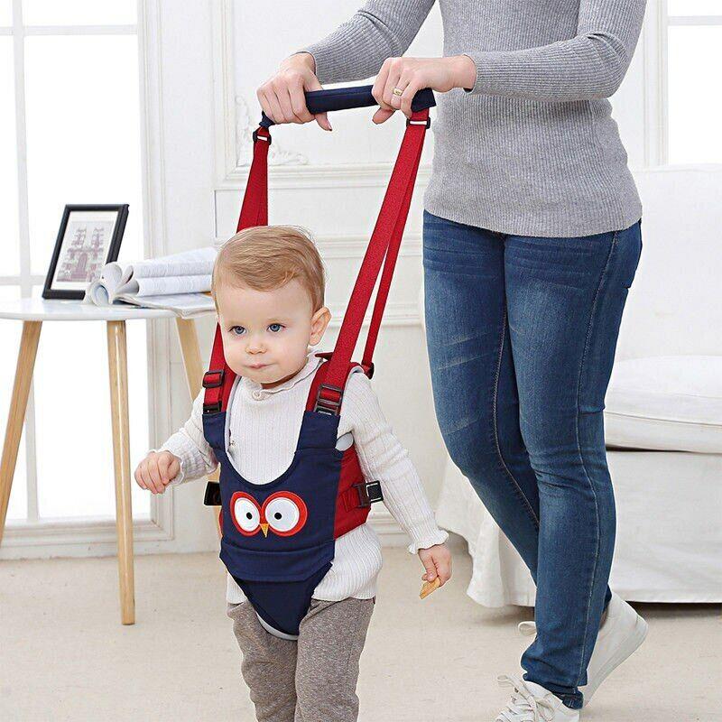 Baby Walker Helper Handheld Toddler Children Safe Walking Ha