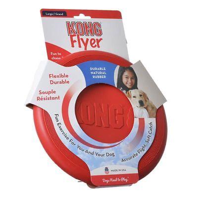 Kong Flyer Dog Flying Disk Large  Free Shipping (Kong Disk)